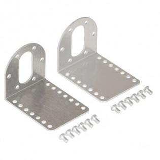 Soporte para motor 37D en aluminio (Par)