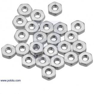 Tuerca Hexagonal 4-40 (25 unidades)