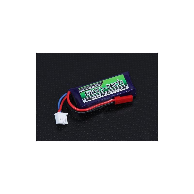 Batería de polímero de iones de litio 300mAh 7.4V