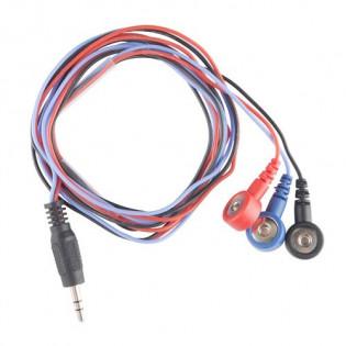 Cables para electrodos (3 Conectores)