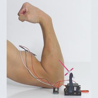 Sensor de músculo mioeléctrico
