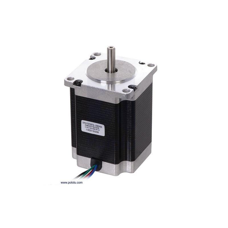 Motor paso a paso NEMA 23: Bipolar, 200 Pasos/Rev, 57x76mm