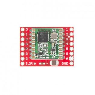 Módulo de comunicación RFM69 (915MHz)