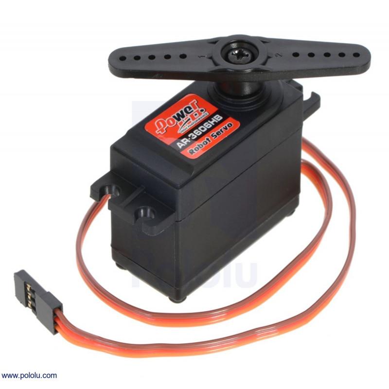 Servo giro continuo AR-3606 HB 6.7 kg-cm