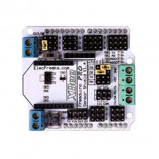 Freeduino Sensor Shield with Xbee