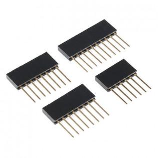 Terminales Arduino 6, 8 y 10 pines