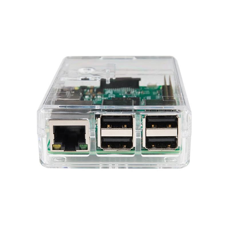 Caja para Raspberry Pi 3 - Translúcida