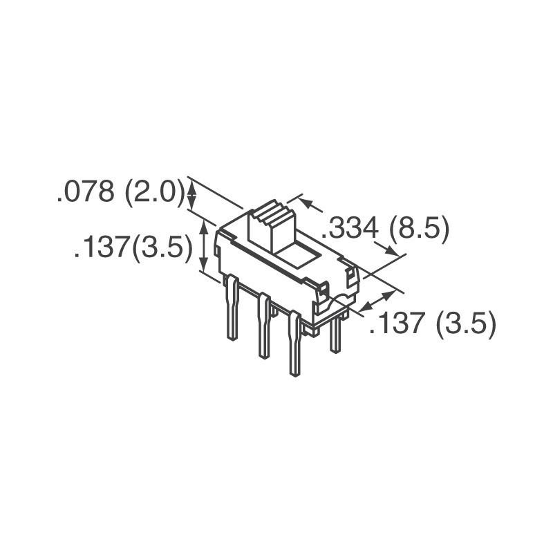 Interruptor lineal SPDT 300mA 30V