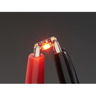 LED Lentejuela - Rojo Rubí x5