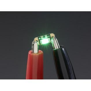 LED Lentejuela - Verde Esmeralda x5