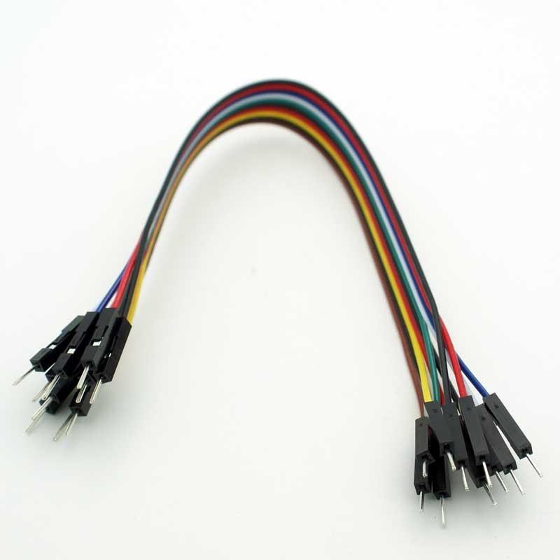 Conectores rápidos Macho - Macho 20cm x 10