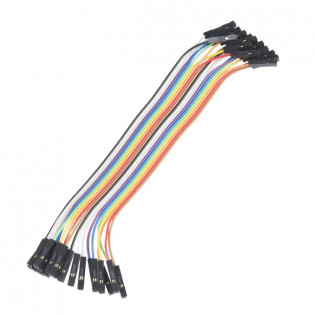 Conectores rápidos Hembra - Hembra 20cm x 10