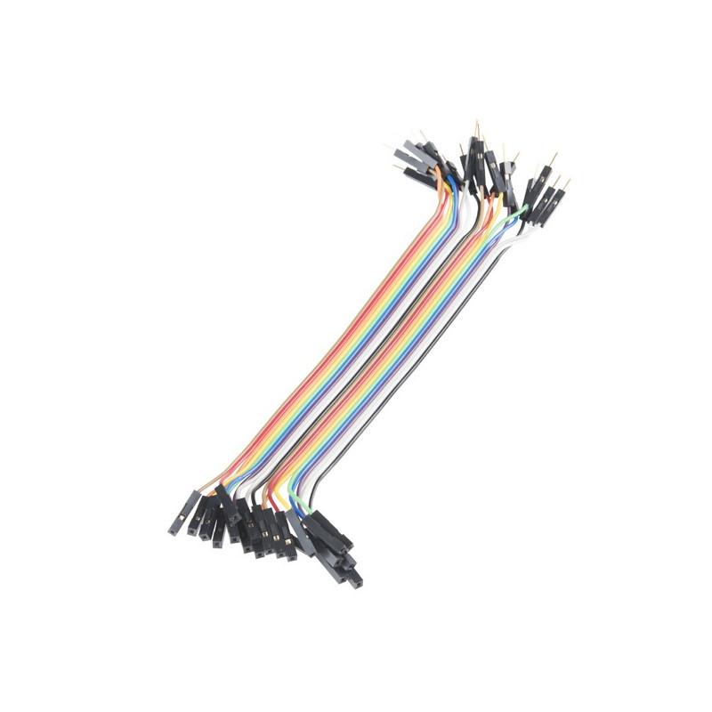Conectores rápidos Macho - Hembra 20cm x 10