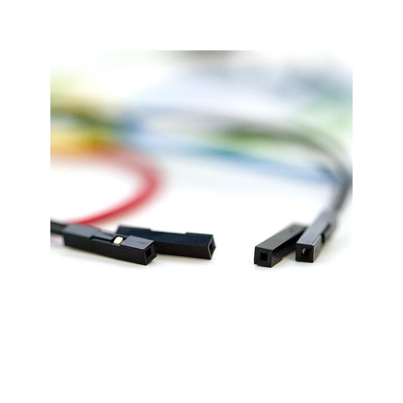 Conectores rápidos Hembra - Hembra 10cm x 10