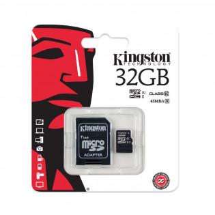 Tarjeta SD 32GB, Clase 10 compatible Raspberry Pi