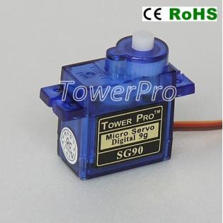 Servo micro giro limitado SG90 1.8Kg-cm