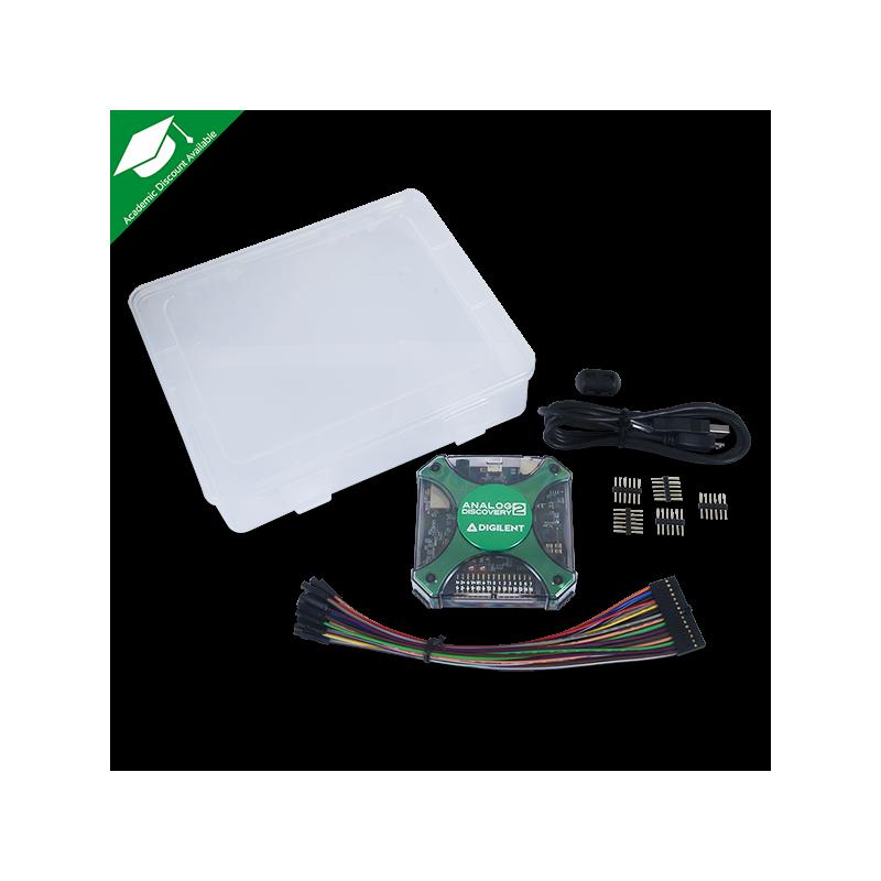 Analog Discovery 2: Oscilloscope-Logic Analyzer-Variable Power Supply