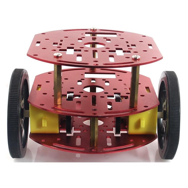 Chasis Redondo Mini con Tres Capas