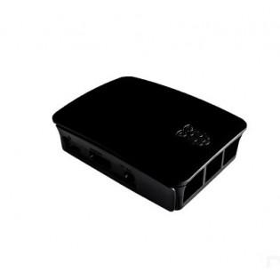 Caja para Raspberry Pi 3 Genérica Negra