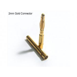 Conector Bullet 2mm (par)