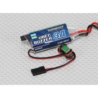 Regulador BEC 5.1V / 6.1V - 3A con Alarma