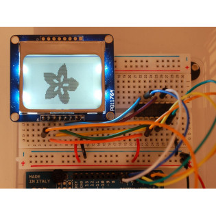 LCD Gráfica Nokia 5110 - Adafruit
