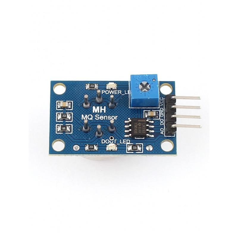 Modulo sensor de gas GLP MQ-6 (Gas licuado de petroleo)