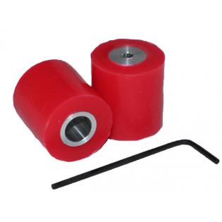 tdrobotica ruedas mini Seguidor de Linea - Rojo