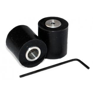 tdrobotica ruedas mini Seguidor de Linea - Negro