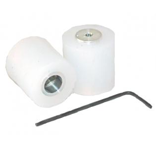 tdrobotica ruedas mini Seguidor de Linea - Blanco