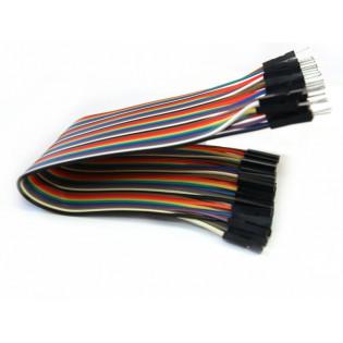 Conectores rápidos Macho - Hembra 30cm x 40