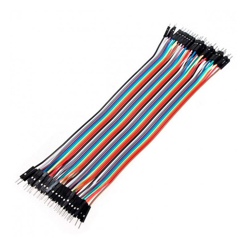 Conectores rápidos Macho - Macho 20cm x 40