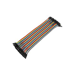 Conectores rápidos Hembra - Hembra 20cm x 40
