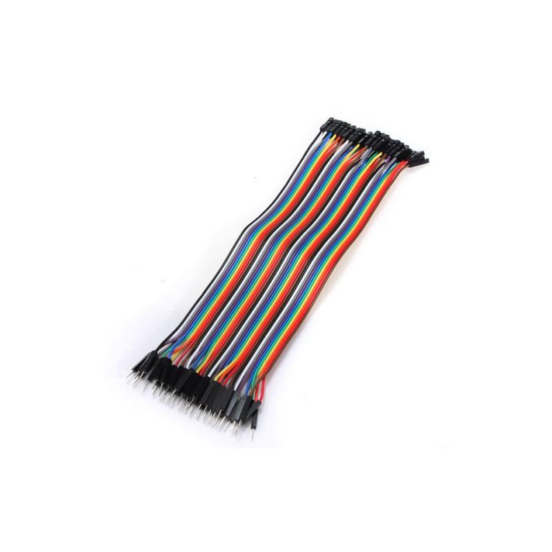 Conectores rápidos Macho - Hembra 20cm x 40