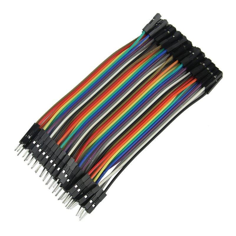 Conectores rápidos Macho - Hembra 10cm x 40