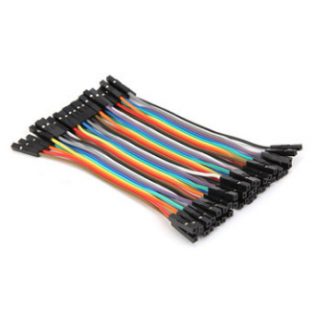 Conectores rápidos Hembra - Hembra 10cm x 40