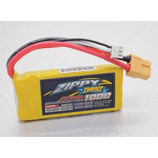 Bateria Lipo 1000mAh Zippy compact 7.4V 25C