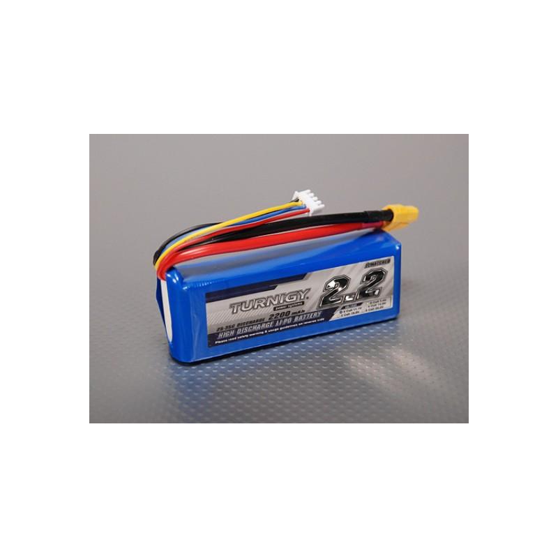Bateria Lipo Turnigy 2200mAh 11.1V