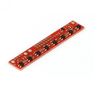 Sensor de linea (QTR-8RC) - Digital arreglo de (8)
