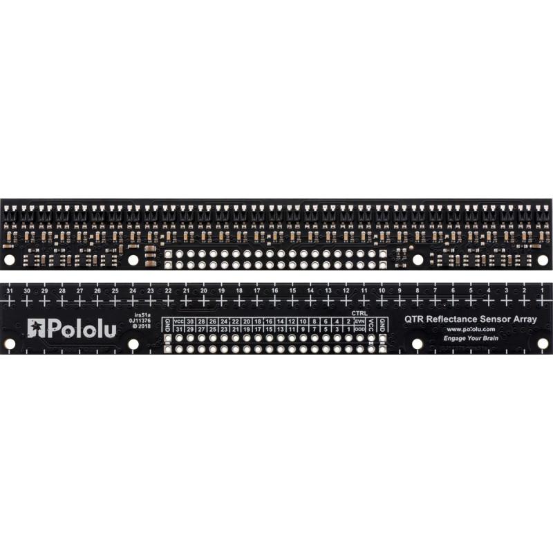 Regleta de sensores de linea QTR-HD-31RC