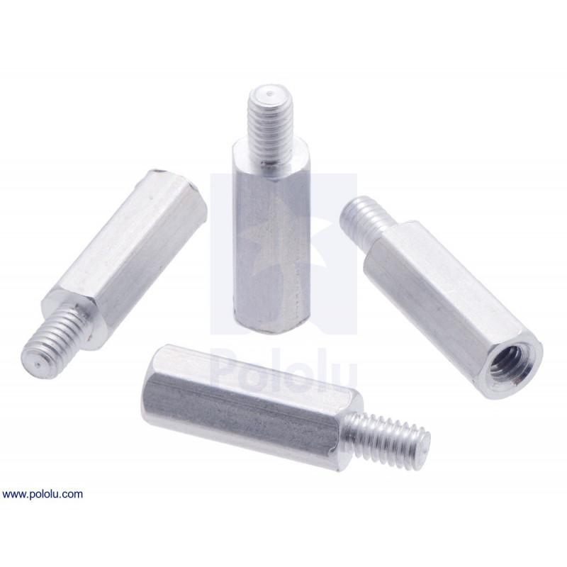 Separadores de aluminio Raspberry pi 11mm