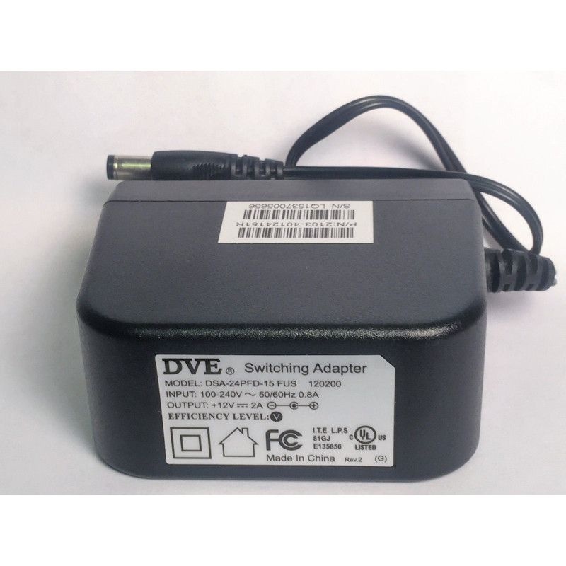 Adaptador de pared - 12VDC 2A
