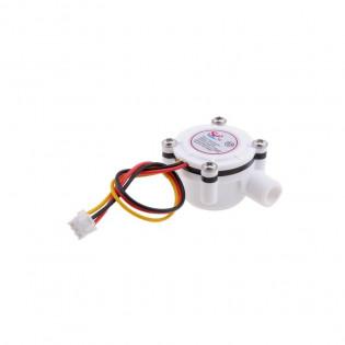 Sensor de flujo de agua Contador Fluido Control 0.3-6L / min
