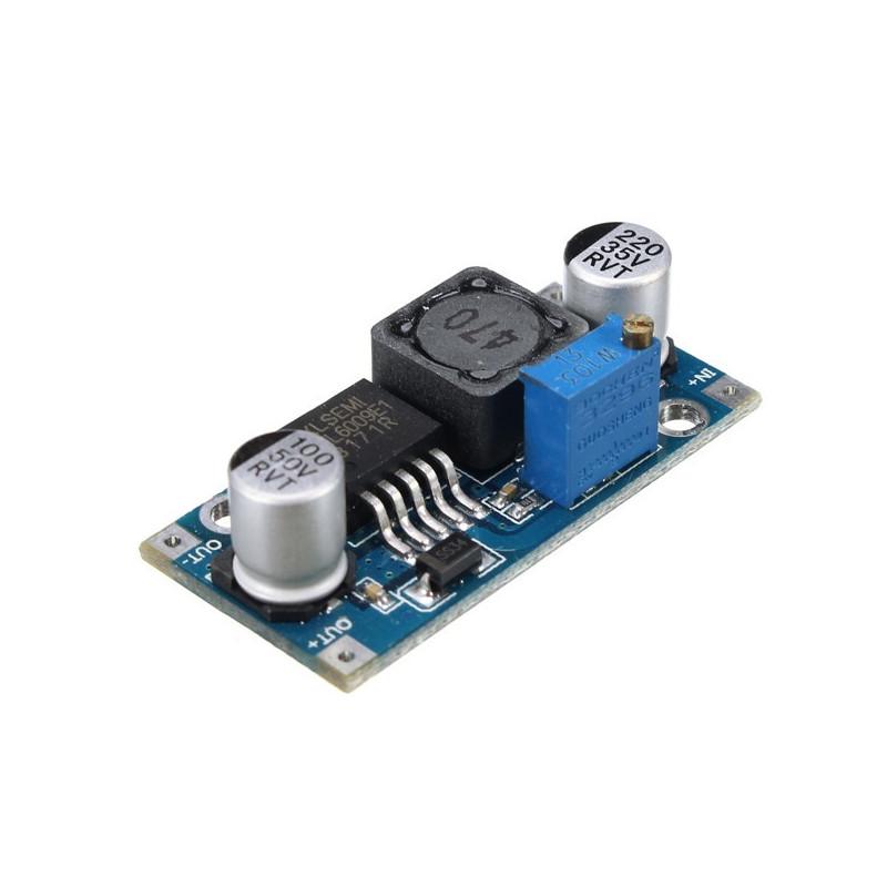 Módulos de potencia Regulador de impulso ultra ajustable LM2577
