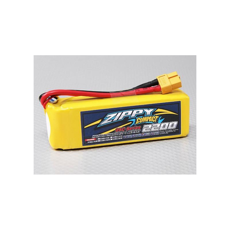 Batería Zippy LiPo 2200 mAh 14.8V
