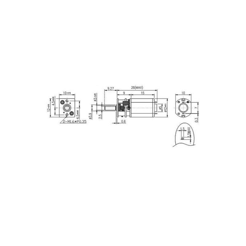Micromotor HP 10:1