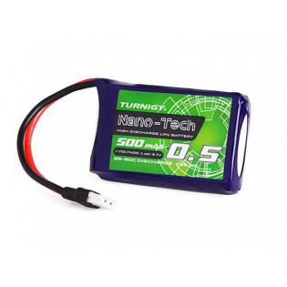 Turnigy Nano - Tech 500mAh 1S 25-50C LIPO Pack