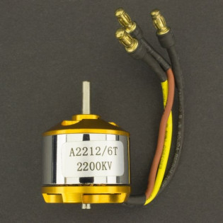Motor  Brushless A2212/2200Kv 6T
