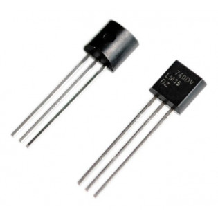 Sensor Tempèratura LM35