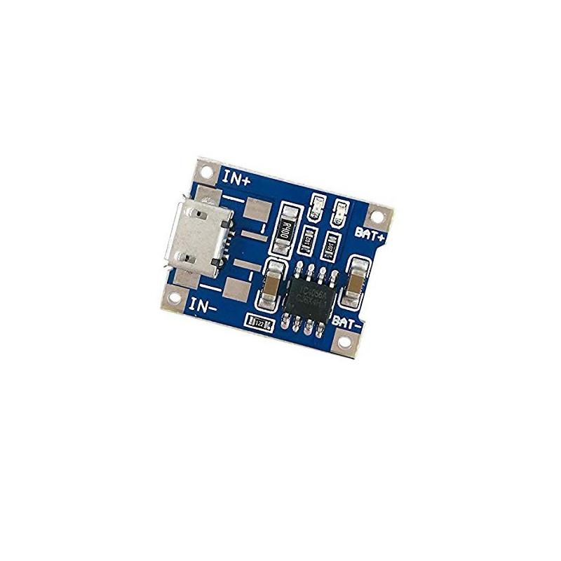 Cargador Baterías Litio 18650 - TP4056